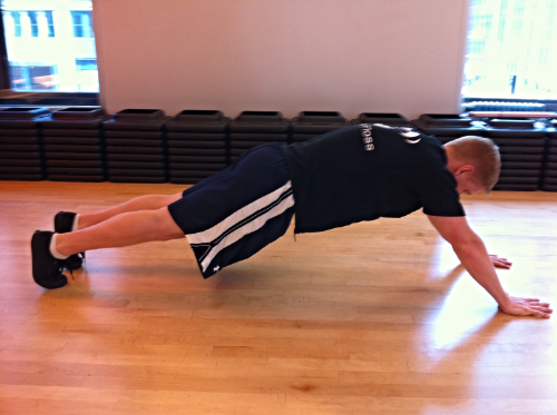 Trunk Stability Push Up