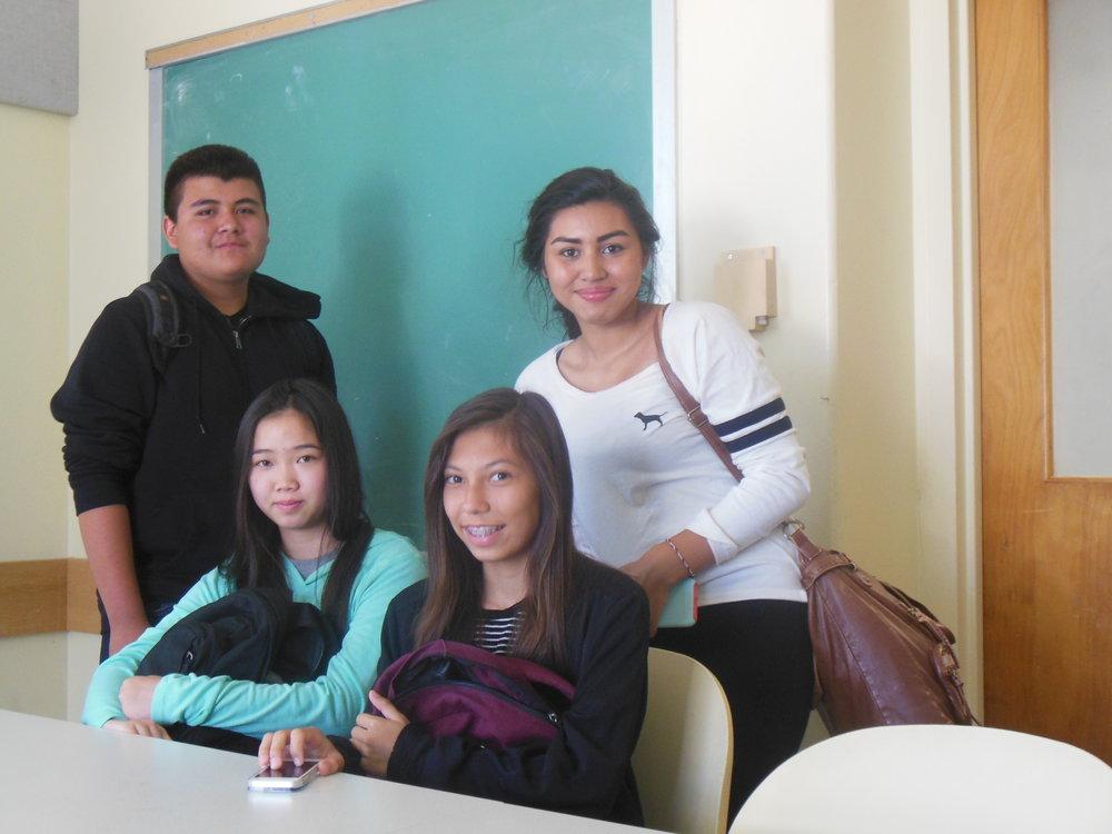 Karnia, Jessica, Manuel, and Ofelia