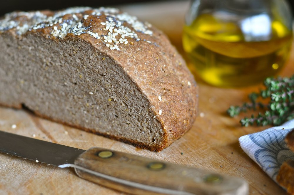 Gluten Free Bread - Recipe from Nourishing Meals cookbook