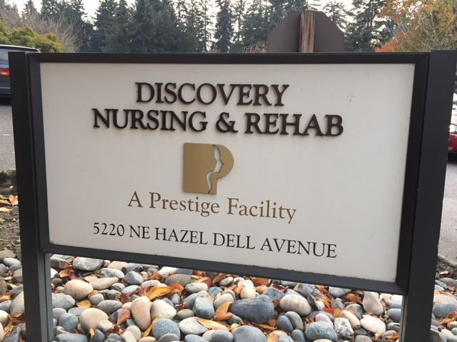 First Sundays we meet at Discovery Rehab!