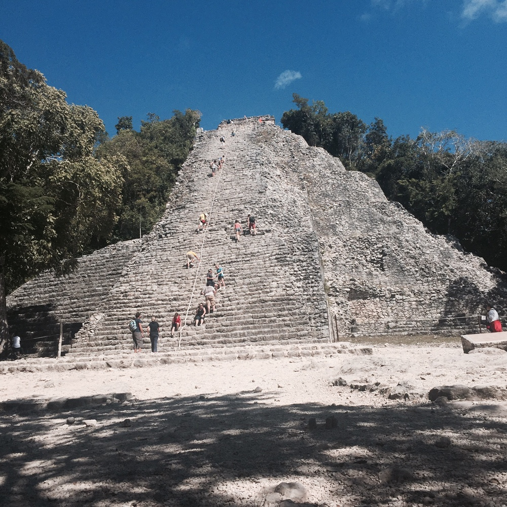 This pyramid is still the tallest structure in the Yucatan