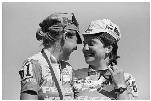 Ore-Ida Challenge 1986 podium.jpg