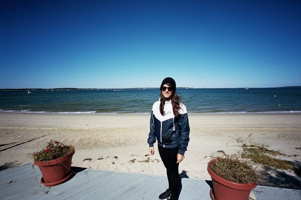 Elizabeth in Montauk