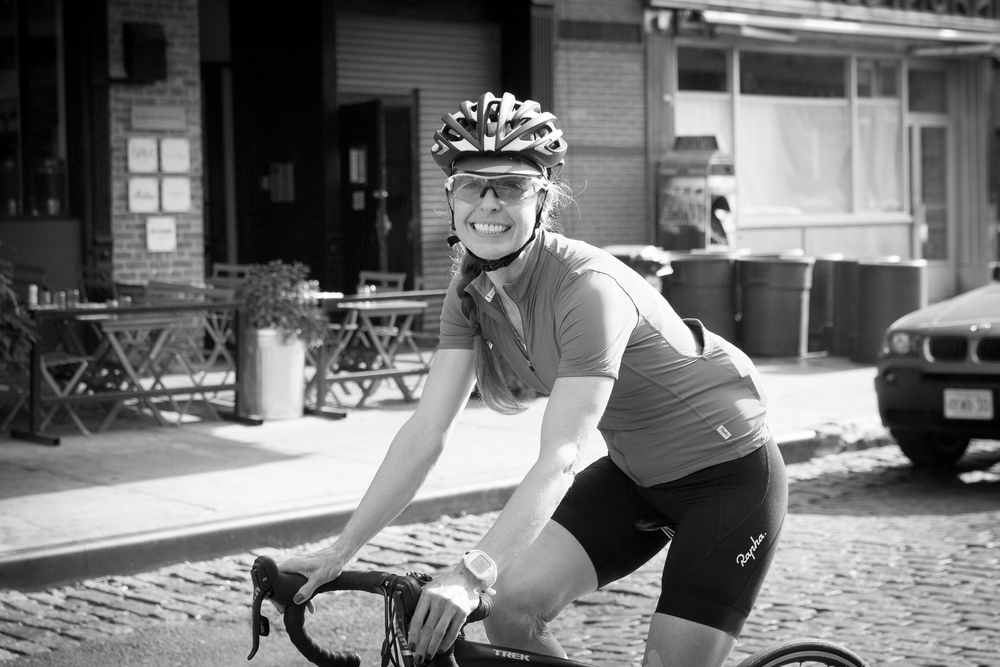 Cycling coach and Rapha ambassador Tara Parsons