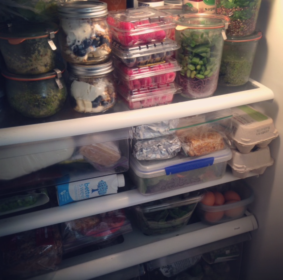 Fridge-Spo? Fridge Shelfie? yep, its a thing!