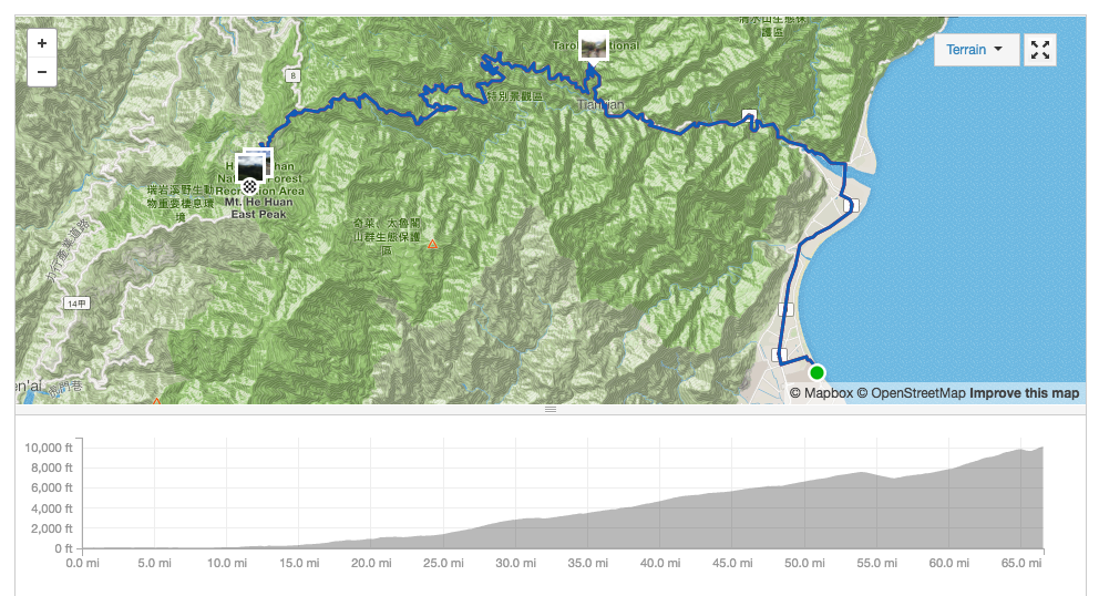 QOM of the Summer Road to KOM Sportif in Taiwan Pretty Damned Fast