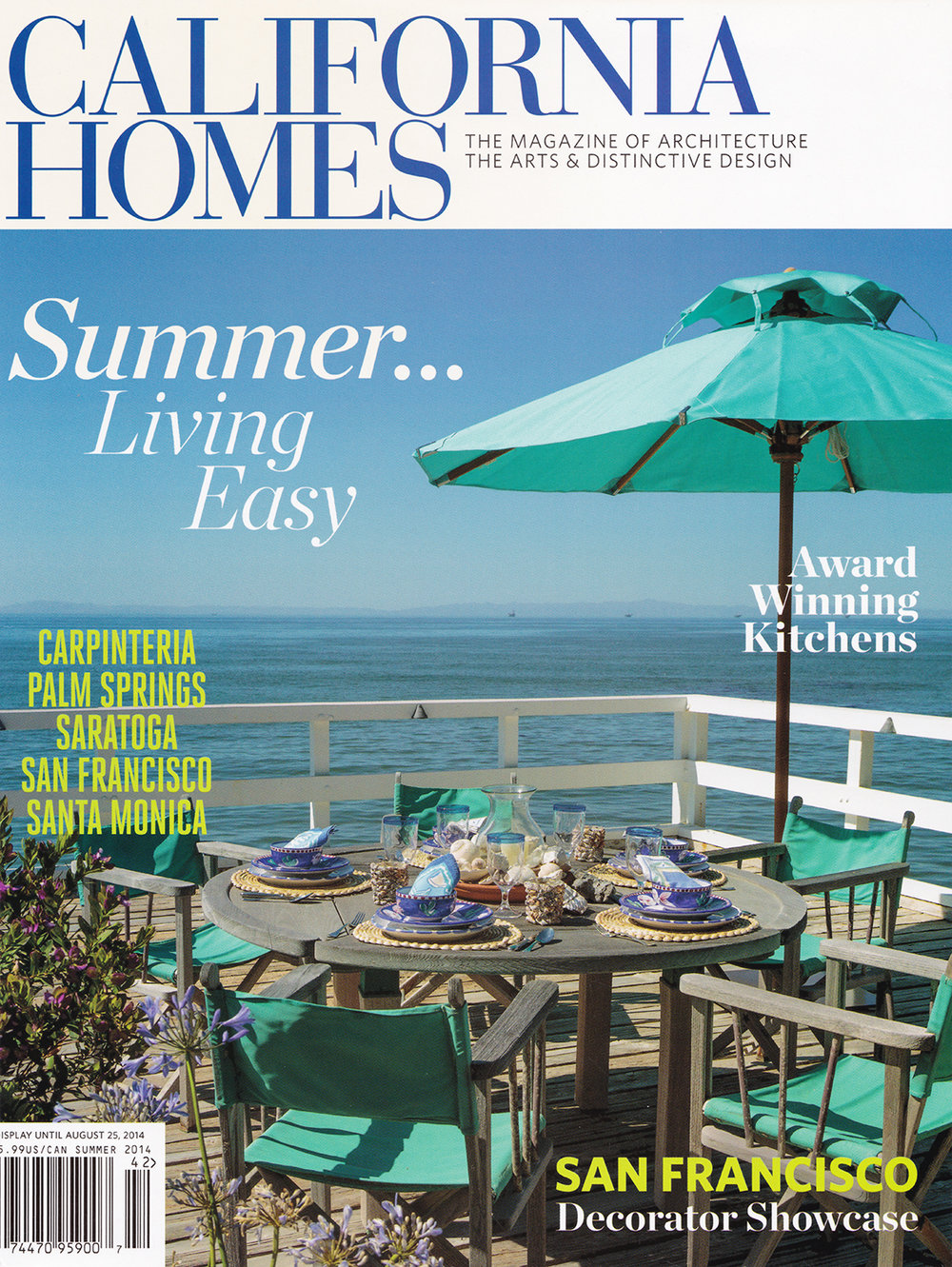 California Homes  August 2014    READ MORE