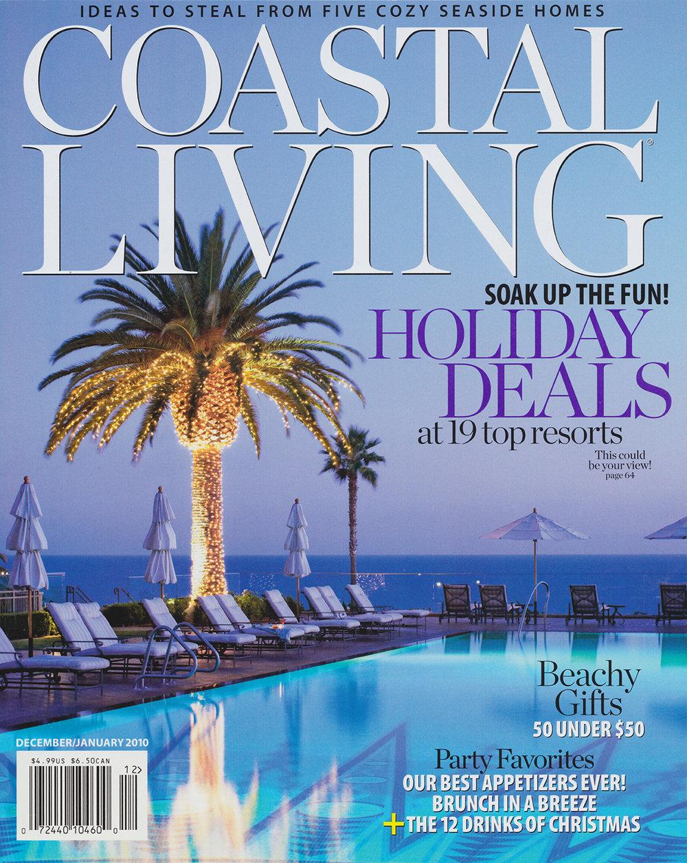 Coastal Living  January 2010    READ MORE