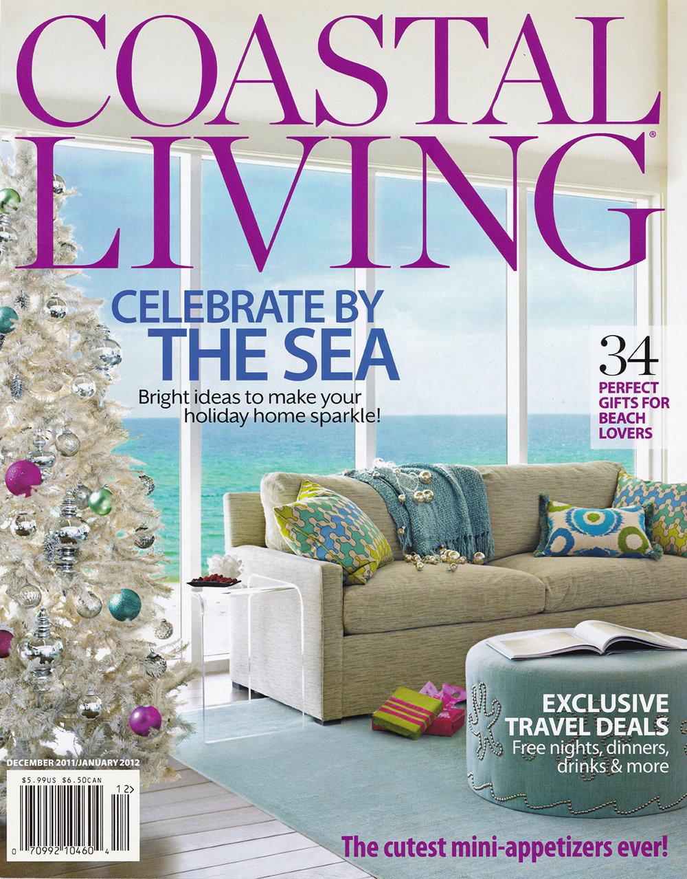 Coastal Living January 2o12 READ MORE