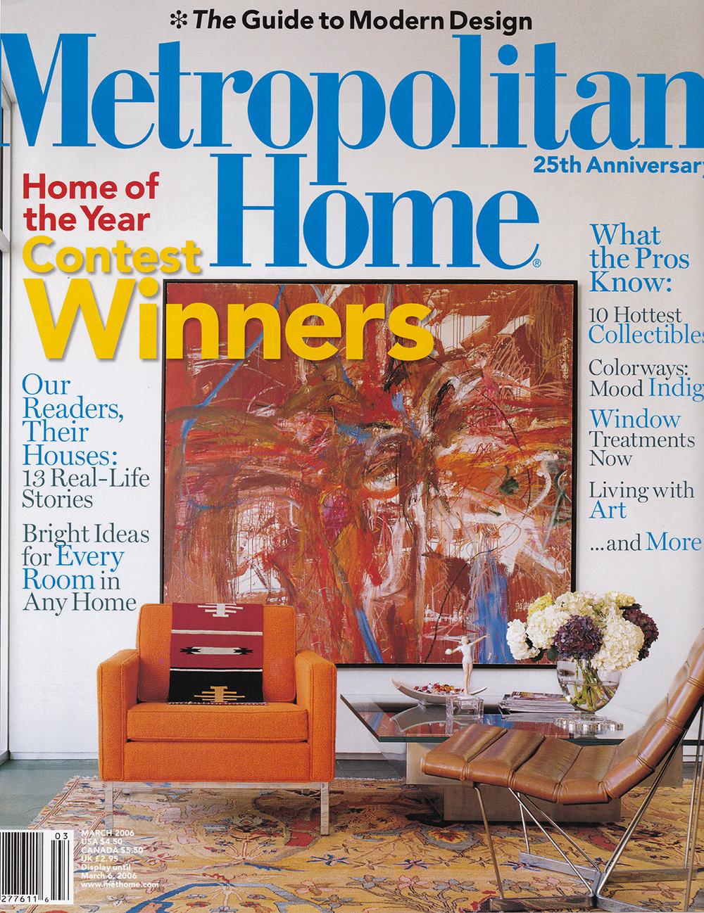Metropolitan Home  March 2oo6    READ MORE