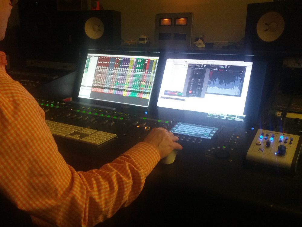 Mixing Session, Jan 2015