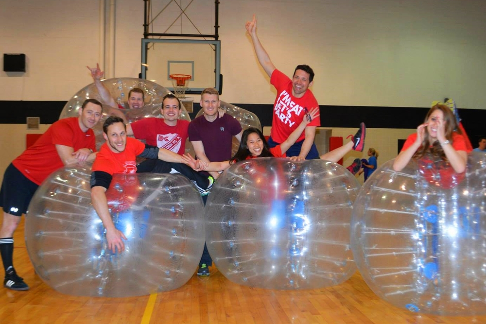Indoor Bubble Soccer Review