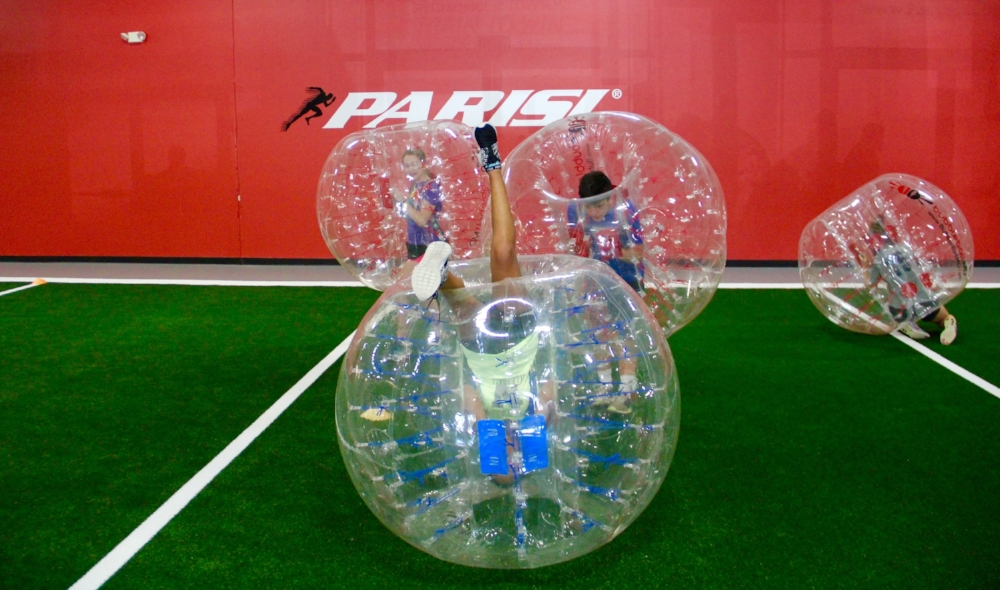 University of Maryland Bubble Soccer