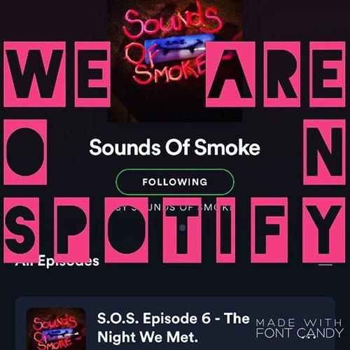 Sounds of smoke on spotify