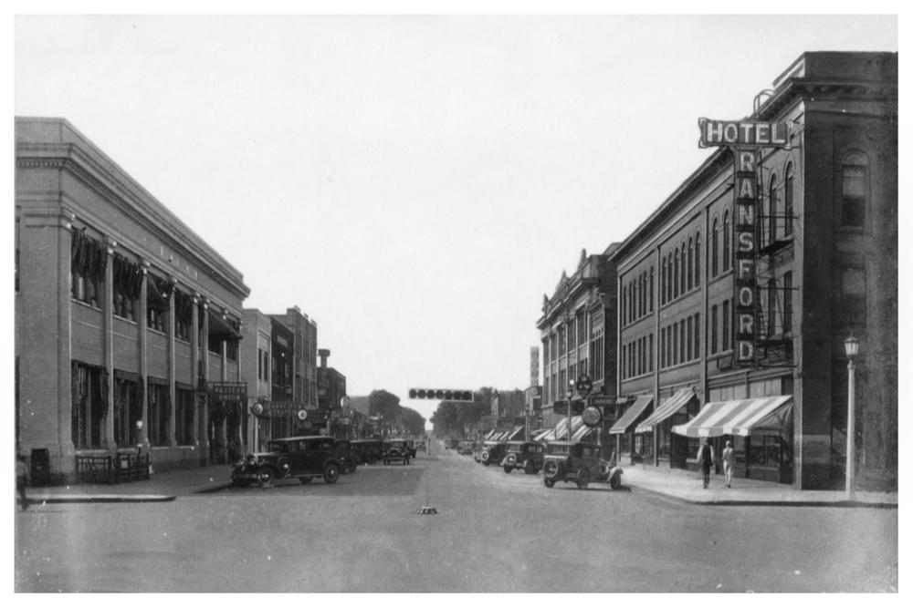 Brainerd, MN. Laurel Street.