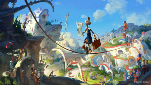 The logic behind most of the places we build today is far crazier than this. (Whoville from the movie adaption of Horton Hears a Who!)