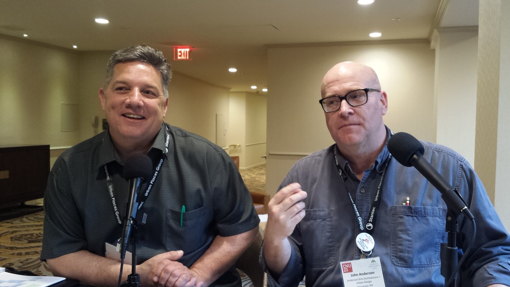 Monte Anderson and R. John Anderson (no relation) at CNU 23 in Dallas.