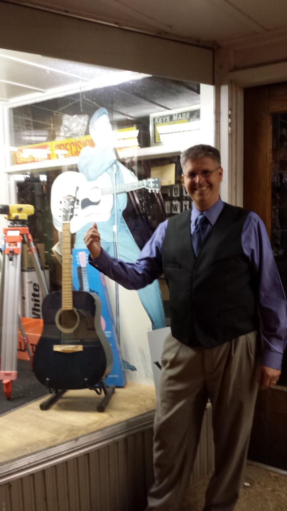 Elvis's guitar.