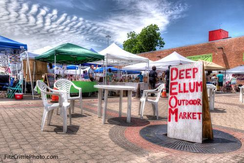 Deep Ellum Outdoor Market via Fitz Crittle Photo