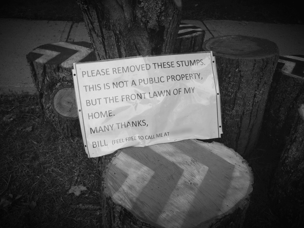 A message from the property owner