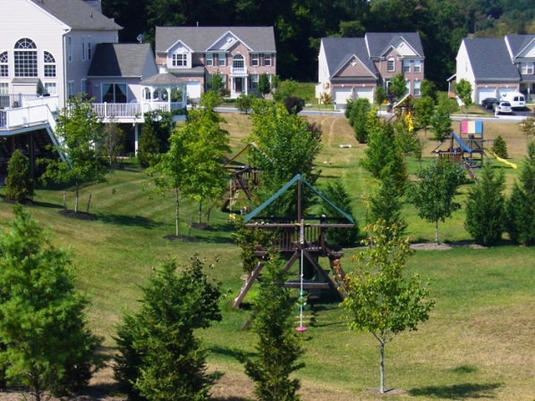 A Neighbourhood Park somewhere in suburban Maryland.