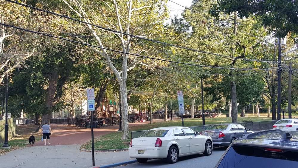 Elysian Park in Hoboken.