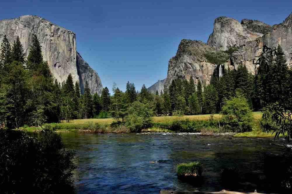 Yosemite National Park. People travel here from all over the world.