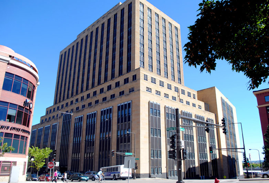 The Custom House building pre-redevelopment. Source: Minneapolis Star Tribune.