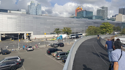 The side entrance to the Javits Center in Manhattan. I am using the Javits Center again, because it disturbs me how prime of a location this is in Midtown Manhattan, but there is no need to walk here, so it is a dead street.