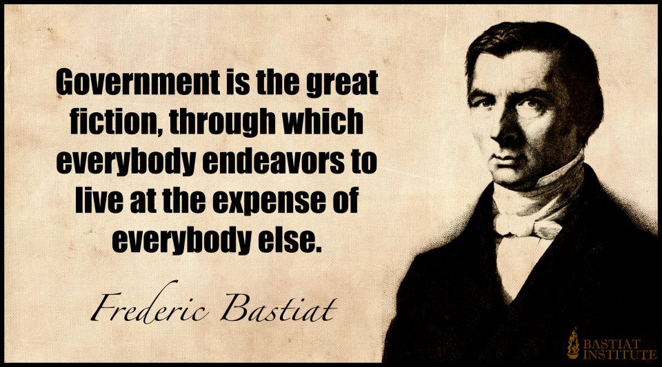 It's instances where cities take over private roads that give credence to this statement by Bastiat.
