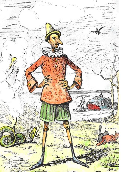 Pinocchio c/o Wikimedia.