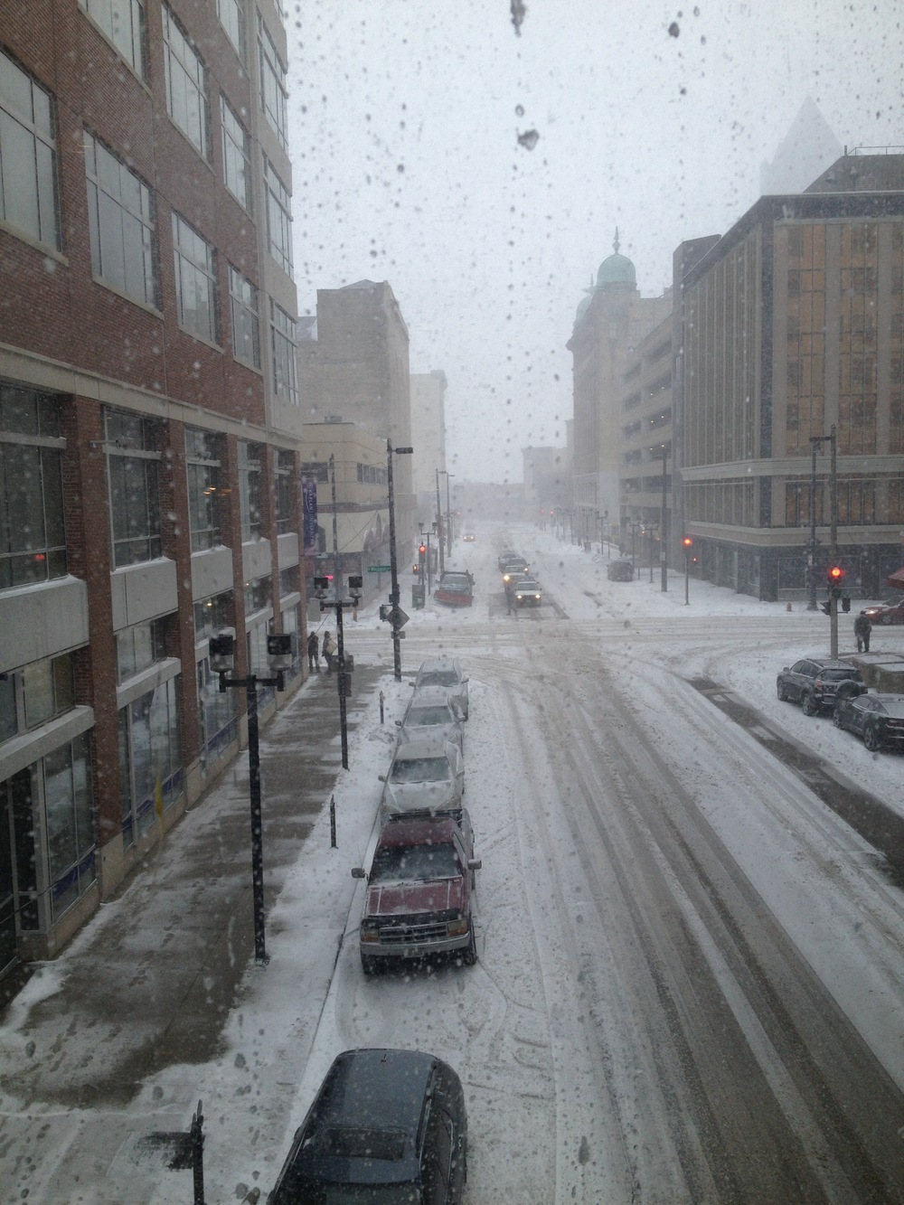 View from a Milwaukee skyway. Photo by the author.