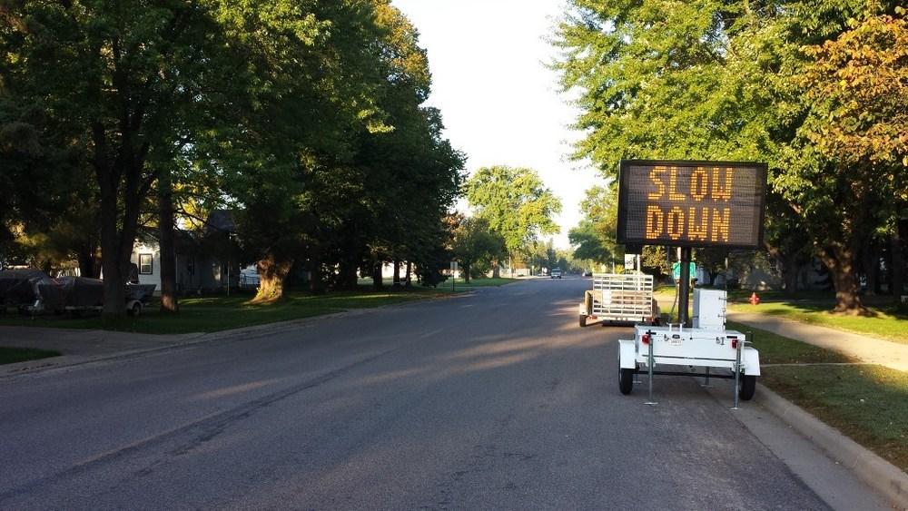 Even our neighborhood streets now meet highway standards.