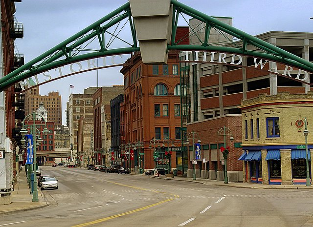 Photo of the Historic Third Ward in Milwaukee, WI, by NickSchweitzer