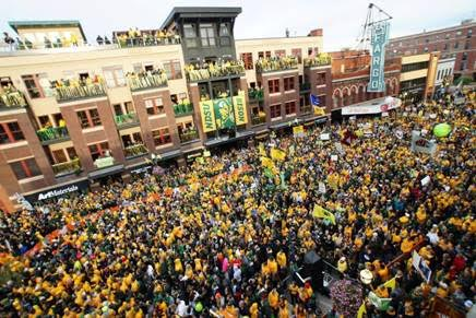ESPN GameDay in Fargo. Credit: DCP