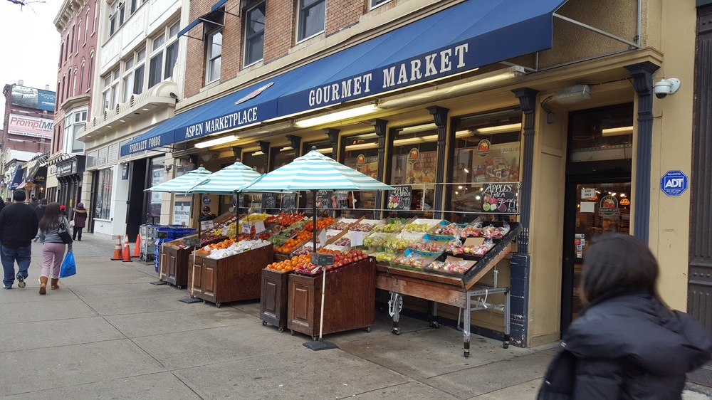 A larger but still independently run supermarket in Hoboken.