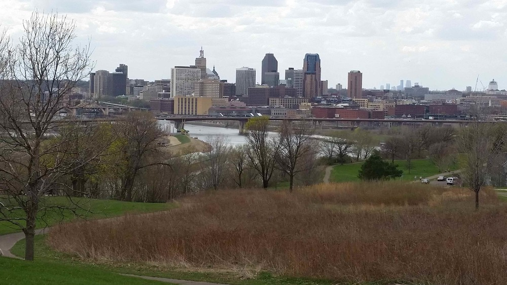 Downtown St. Paul seen from Indian Mounds Park