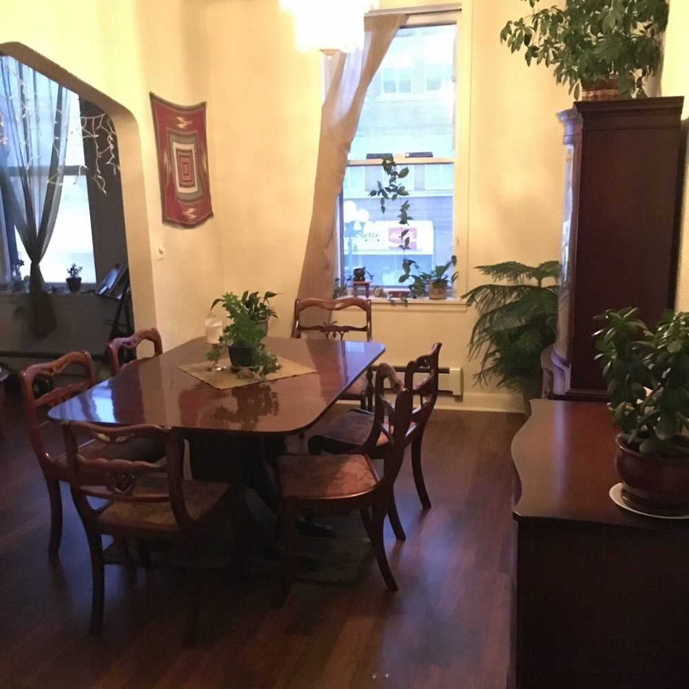 Leah's dining room