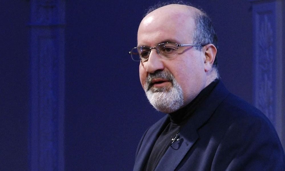 Photo of Nassim Taleb from Vimeo