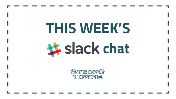 You'll see this image every Monday when we announce our weekly Slackchat