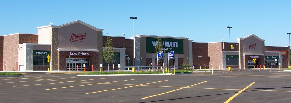 A Walmart Supoercenter.  Photo from Wikimedia Commons