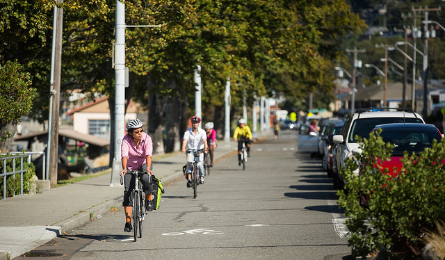 from  Bike Lanes: Good or Bad for Business?