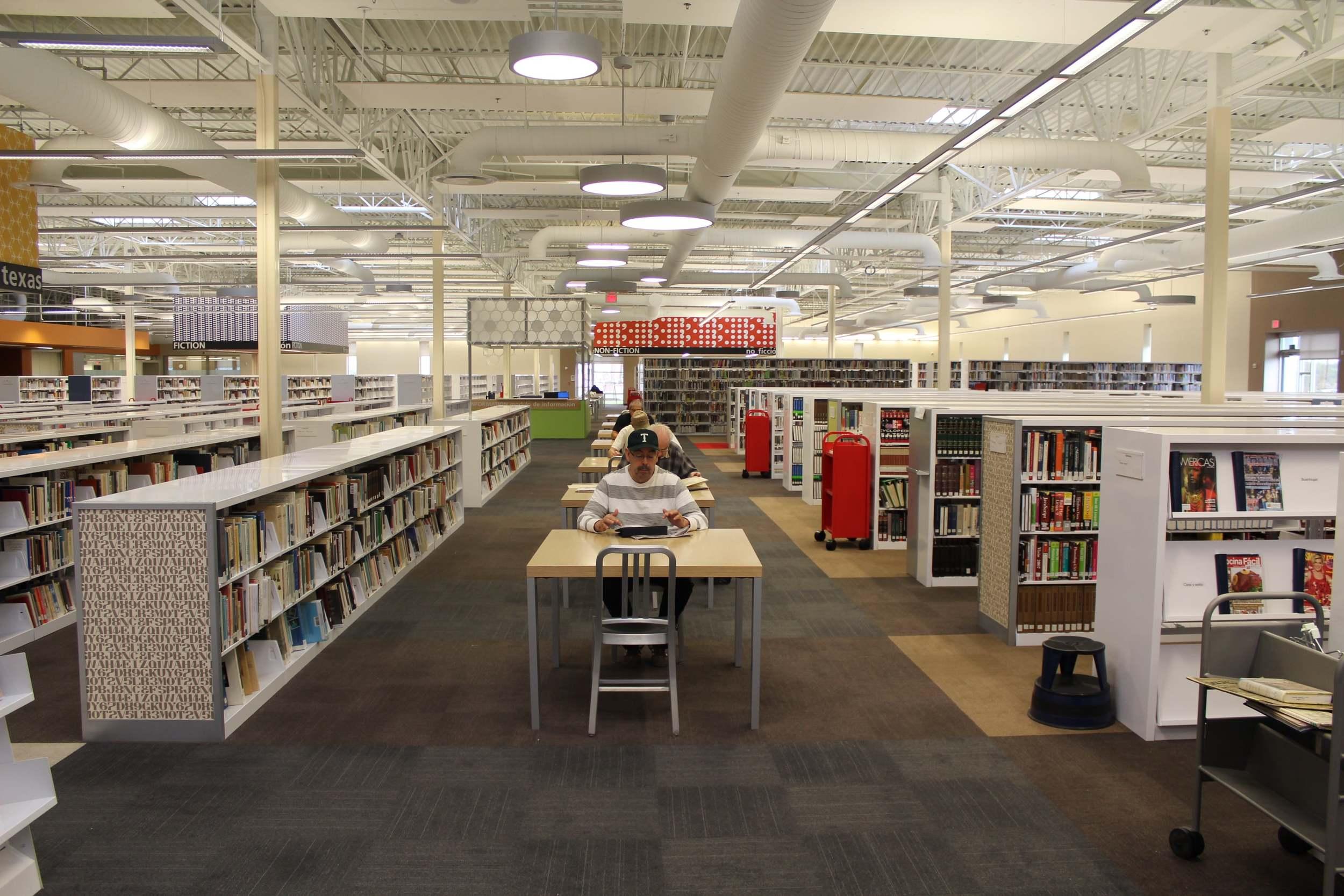 Mcallen Library Study Room