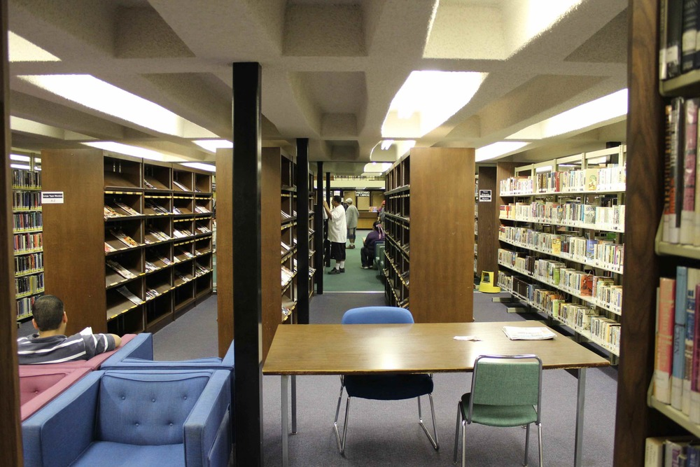 The old McAllen Main Library.  See more photos here.