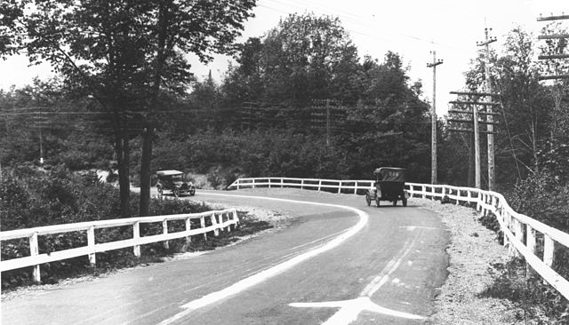 County Road 429 in Michigan, circa 1917