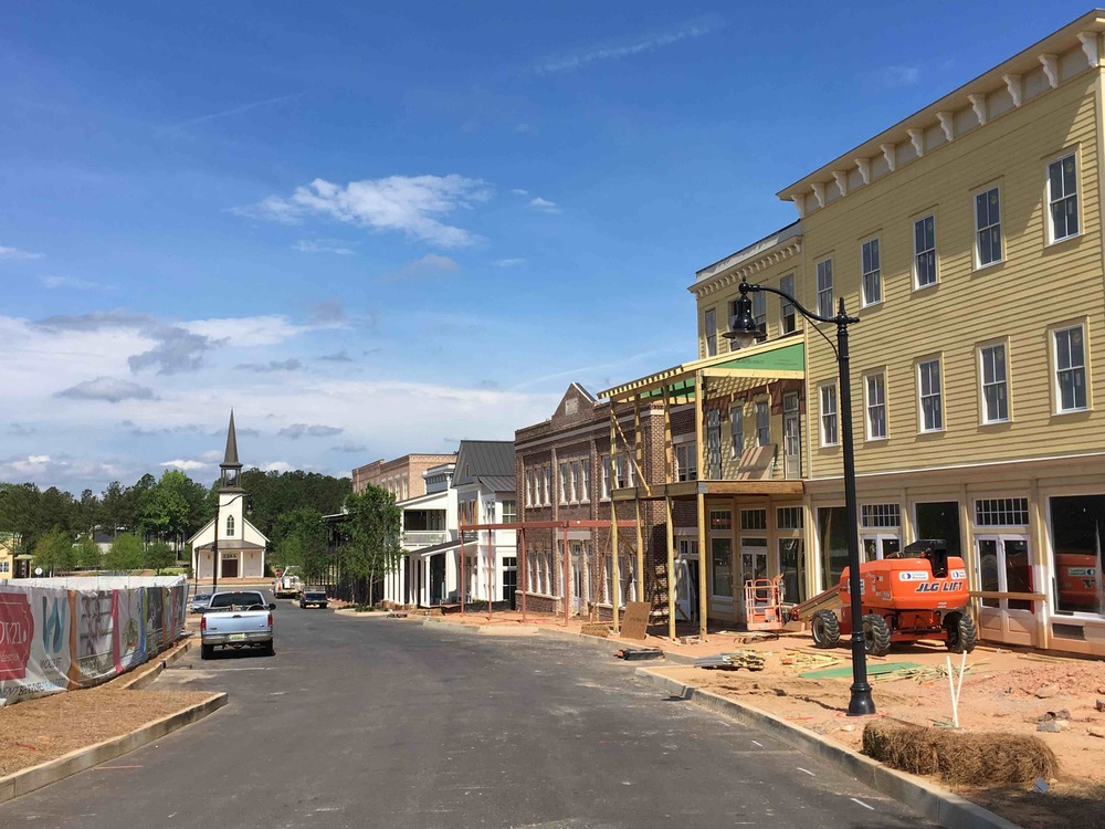 Old Town Columbus will feature a focus on walkability... but you'll have to drive to get there.