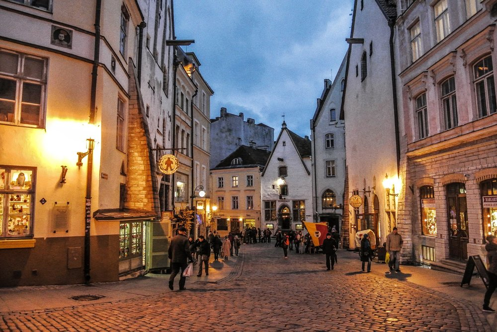 Tallinn, Estonia  (Source.)