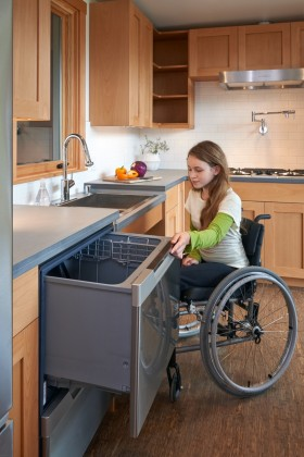 wheelchair kitchen design what makes a home truly work for of all ages and 1001