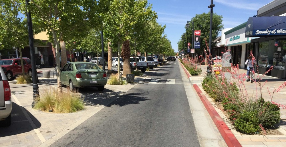 A redesigned street is safer and more economically productive in Lancaster, CA. Read more about this project.