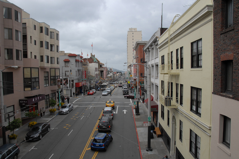 Typical street in San Francisco.  (Photo credit:  Anja Redenbaugh )